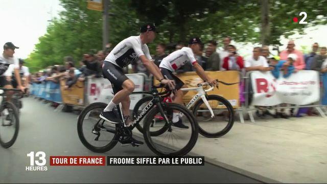 Tour de France : Froome sifflé par le public vendéen