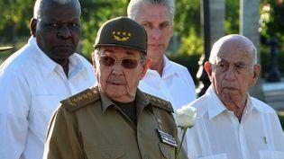 Le chef de l'Etat cubain, Raul Castro, le 4 décembre 2017 à Santiago de Cuba. (MARCELINO VAZQUEZ / ACN)