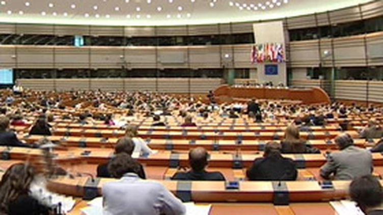 Le Parlement européen, à Strasbourg (14/02/2006) (© France 2)