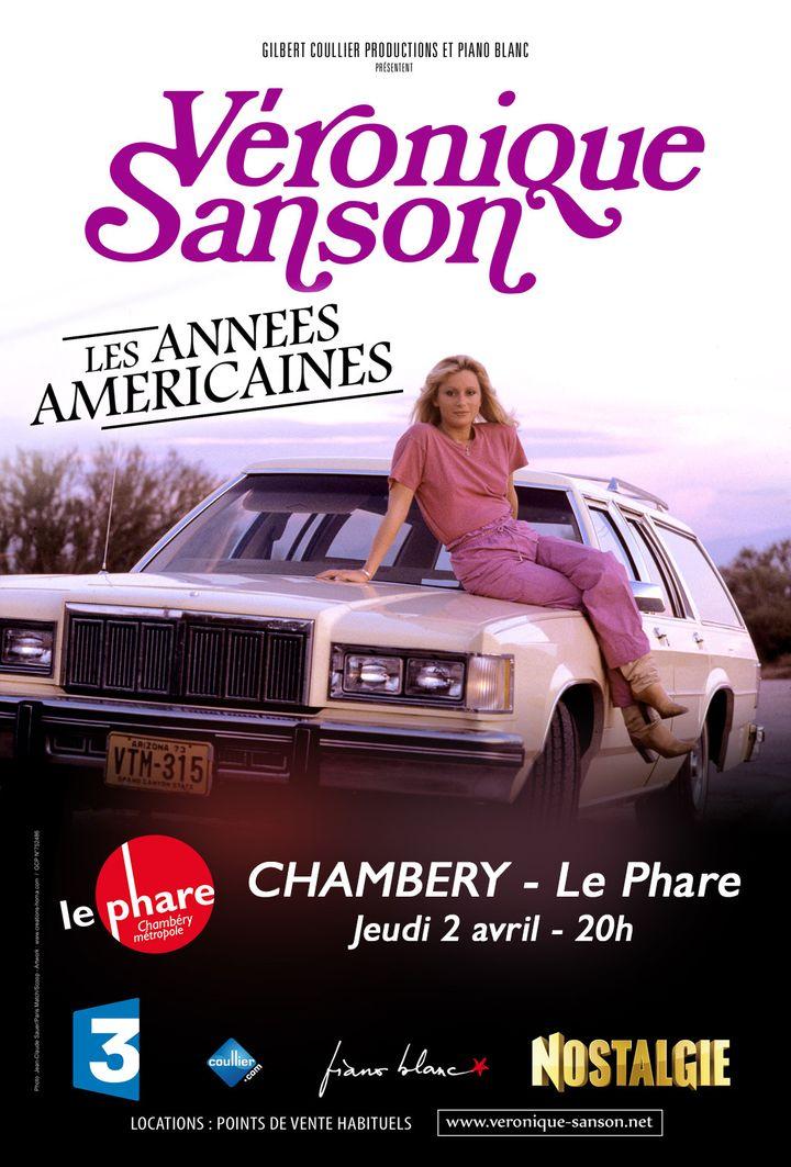 L'affiche chambérienne de la tournée de Véronique Sanson  (DR)