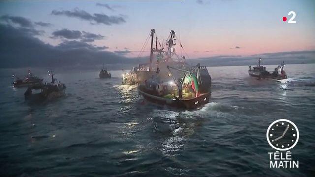 Bataille navale grandeur nature entre pêcheurs normands et britanniques