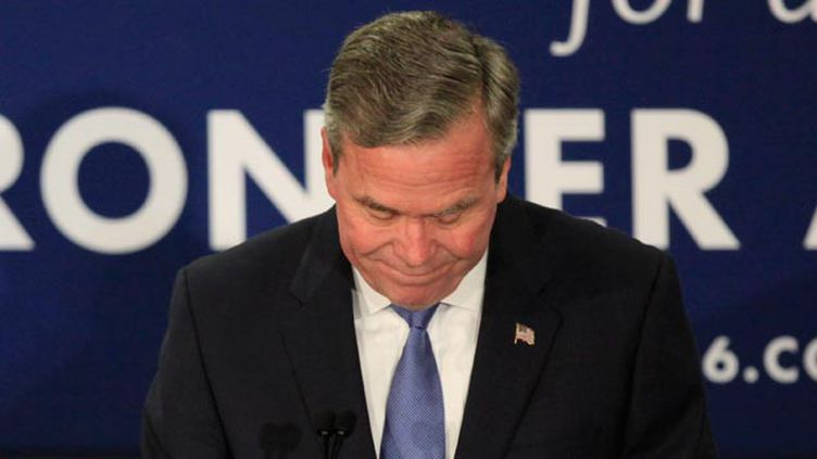 (Jeb Bush était le favori des républicains © REUTERS / Randall Hill)
