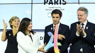 La commission d'évaluation du Comité international olympique (CIO) est resté à Paris durant trois jours. (Photo d'illustration) (FRANCK FIFE / AFP)