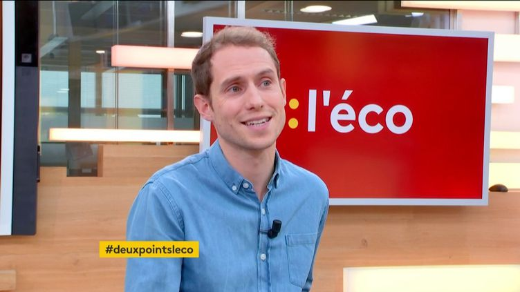 Benoît Berthelot dans :l'éco (FRANCEINFO)