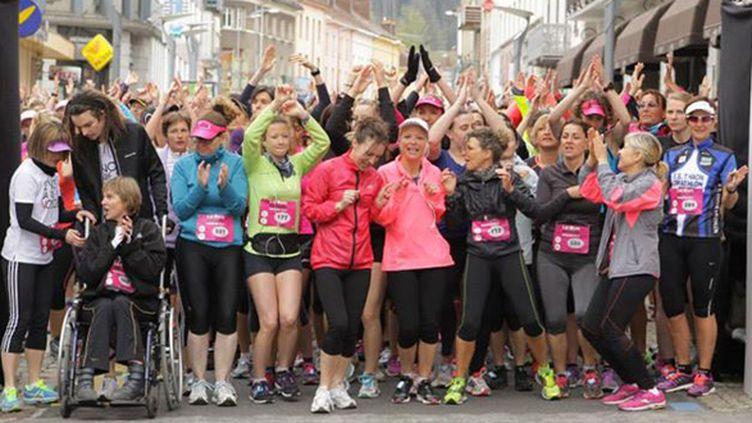 620 coureuses au départ de la Run attitude 2014