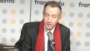 Le journaliste Christophe Barbier était l'invité de franceinfo le 13 octobre 2021. (FRANCEINFO / RADIO FRANCE)