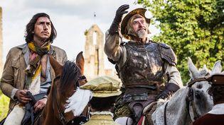 """Adam Driver et Jonathan Pryce dans""""L'homme qui tua Don Quichotte"""" de Terry Gilliam.  (Diego Lopez Calvin)"""