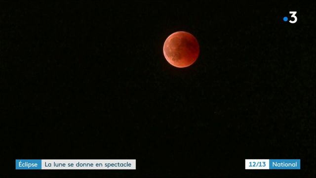 Éclipse : la Lune se donne en spectacle