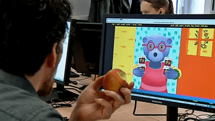 """""""Petit Ours Brun"""" renaît en 3D grâce au studio d'animation O2O situé à Saint-Malo  (France 3 / Culturebox)"""