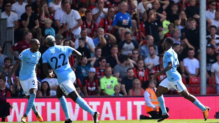 Raheem Sterling a délivré Manchester City