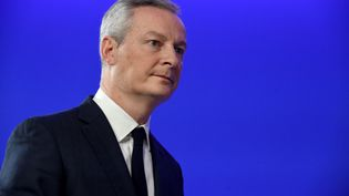 Bruno Le Maire, le 3 décembre 2018, à Paris. (ERIC PIERMONT / AFP)