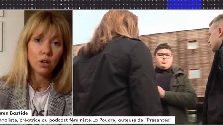 Lauren Bastide. (FRANCEINFO)