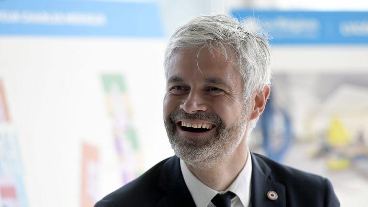 Le président sortant de la région Auvergne-Rhône-Alpes, Laurent Wauquiez, le 3 juin 2021 à Lyon. (MAXPPP)