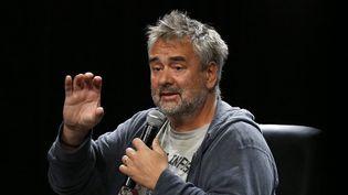 Luc Besson à Pékin le 18 avril 2015  (Wu Hong / EPA / Newscom / MaxPPP)