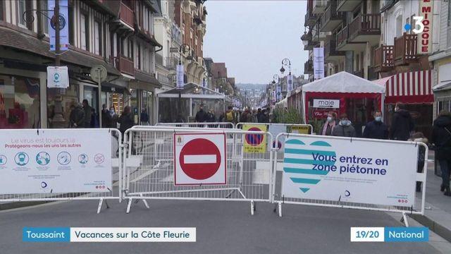 Vacances de la Toussaint : les touristes affluent sur la Côte Fleurie