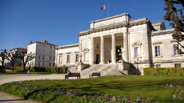 Le palais de justice de Saintes, en Charente-Maritime, le 7 février 2008. (MAXPPP)