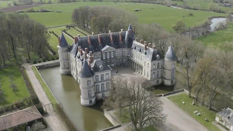 Patrimoine : l'État au secours du château d'Haroué en Meurthe-et-Moselle (FRANCE 2)
