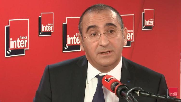 Laurent Nuñez, secrétaire d'État auprès du ministre de l'Intérieur, était l'invité de France Inter mercredi 12 décembre. (FRANCE INTER / RADIOFRANCE)
