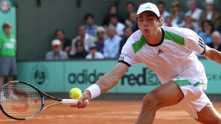Guillaume Rufin à Roland-Garros
