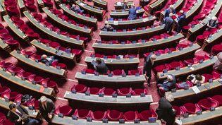 L'hémicycle du Sénat, le 24 juin 2020, lors d'une séance de questions au gouvernement. (MAXPPP)