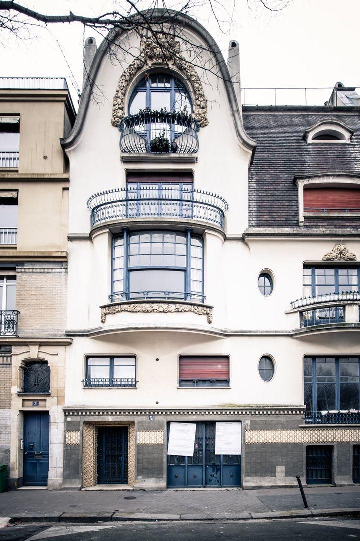 La façade de l'Institut Giacometti, à Paris  (Institut Giacometti 2018)