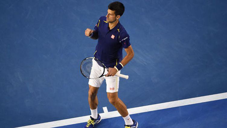 Le joueur serbe Novak Djokovic