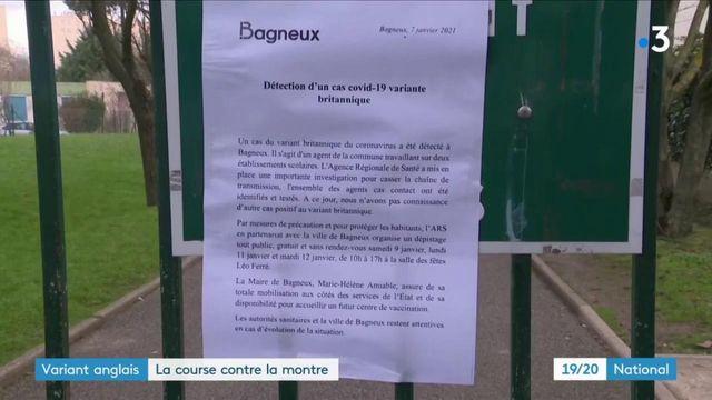 Hauts-de-Seine : la course contre la montre est engagée après la découverte d'un cas du variant britannique à Bagneux