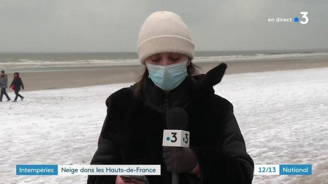 Intempéries : neige et verglas dans les Hauts-de-France