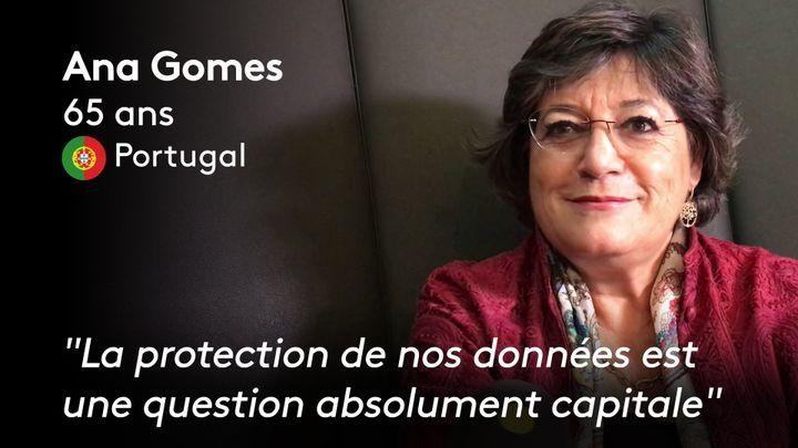Ana Gomes (ANTOINE DEIANA / THIBAUT CAVAILLES / STEPHANIE BERLU  / RADIO FRANCE)