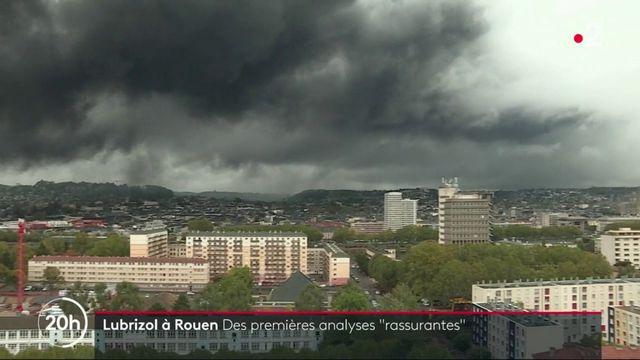 """Incendie à Rouen : les premières analyses jugées """"très satisfaisantes"""" par le gouvernement"""