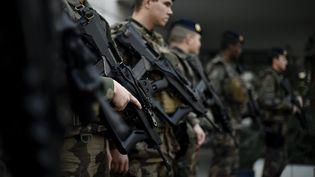 La France prévoit de consacrer 295 milliards d'euros à ses armées entre 2019 et 2022, annonce le ministère des Armées, mercredi 7 février 2018. (MAXPPP)