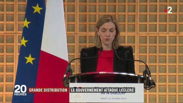 Grande distribution : le gouvernement poursuit Leclerc en justice