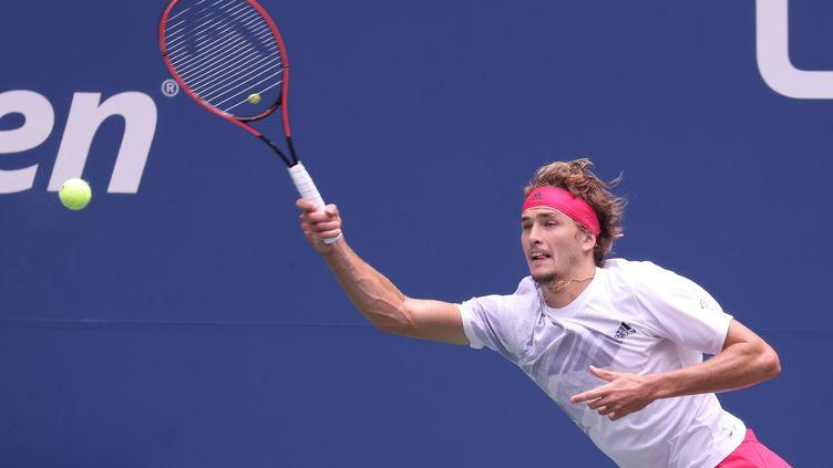 L'Allemand Alexander Zverev à l'US Open (AL BELLO / GETTY IMAGES NORTH AMERICA)