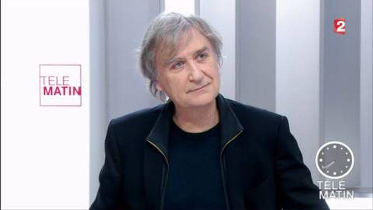 Jean Plantu était l'invité des 4 Vérités. (FRANCE 2)