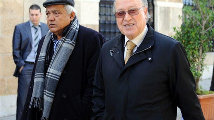 Mustapha Ben Jaafar (à droite). (AFP)