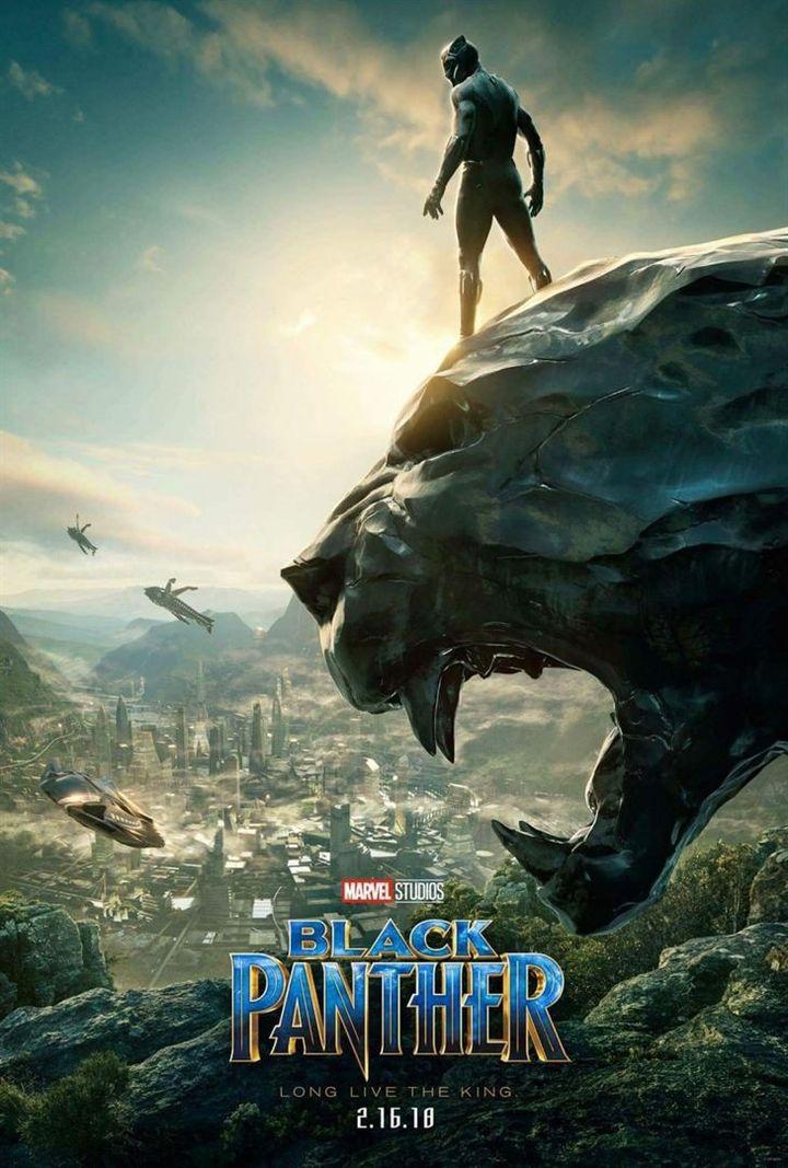 """""""Black Panther"""" : une des affiches américaines  (Marvel Studios)"""