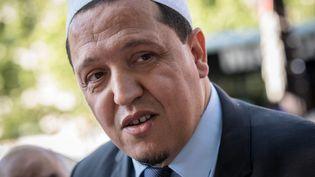 Hassen Chalghoumi, président de la Conférence des imams, en 2017. (AURELIEN MORISSARD / MAXPPP)