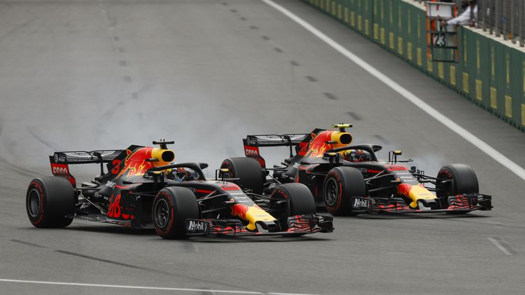 Daniel Ricciardo et Max Verstappen (Red Bull). (HOCH ZWEI / HOCH ZWEI)