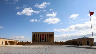 Le mausoléeAnıtkabir à Ankara (Turquie), le 23 avril 2020. (ADEM ALTAN / AFP)