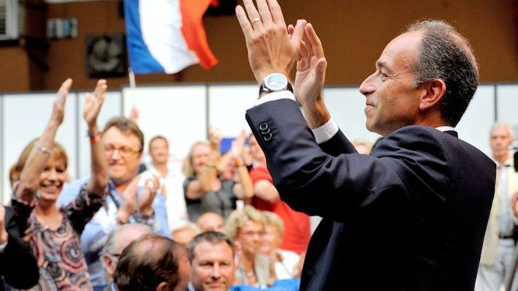 Le président de l'UMP Jean-François Copé, le 8 septembre 2013 au Touquet-Paris-Plage (Pas-de-Calais). (PHILIPPE HUGUEN / AFP)