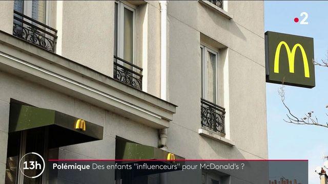 Réseaux sociaux : McDonald's soupçonné de nouer des partenariats cachés avec de très jeunes influenceurs