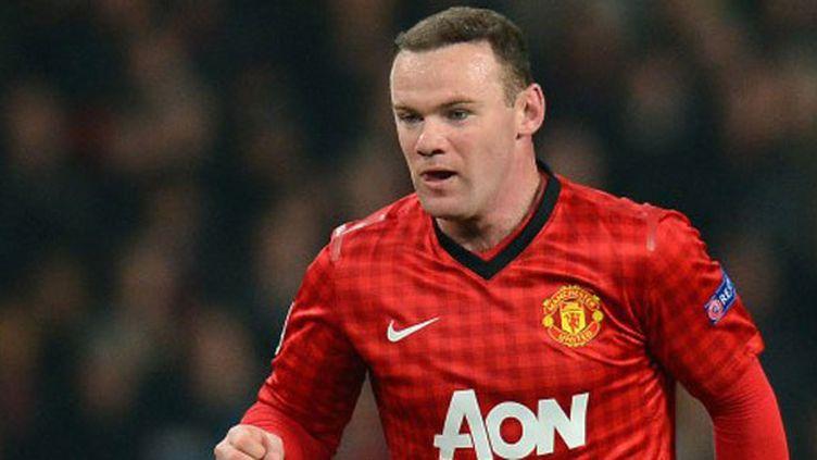 Wayne Rooney, l'attaquant de Manchester United