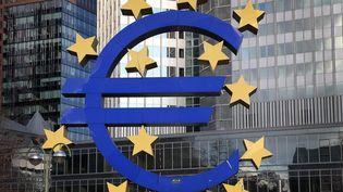 Le siège de la Banque centrale européenne (BCE) à Francfort, enAllemagne, le 6 décembre 2012. (DANIEL ROLAND / AFP)