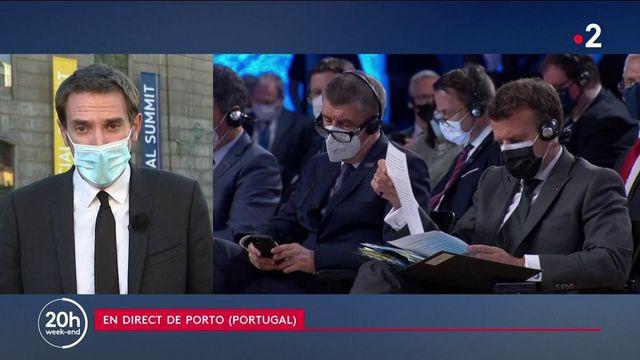 Sommet européen à Porto : la question des brevets des vaccins s'invite dans le débat