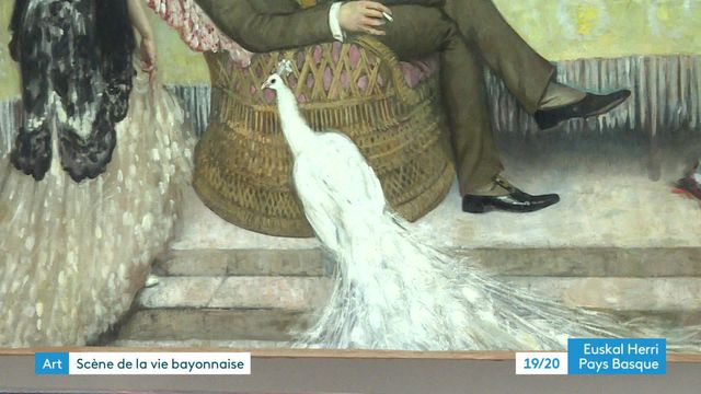 """""""Le paon blanc"""" rejoint les collections du musée Basque de Bayonne"""