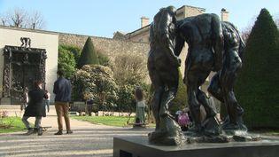 Le jardin des sculptures du Musée Rodin à Paris est ouvert (France Télévisions / M. Huguet)