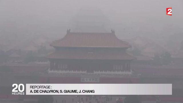 Chine : Pékin engloutie par la pollution