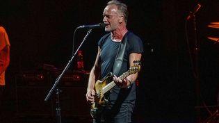 Le chanteur Sting en concert lors de sa tournée 2019 (APZ / EFE)