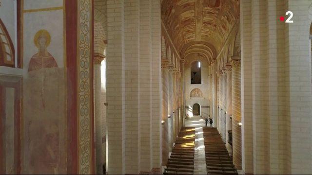 Chemin de traverse : à la découverte de l'abbaye de Saint-Savin