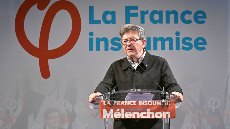 Jean-Luc Mélenchon, leader de La France insoumise à Marseille, le 18 juin 2017. (CITIZENSIDE/GEORGES ROBERT)